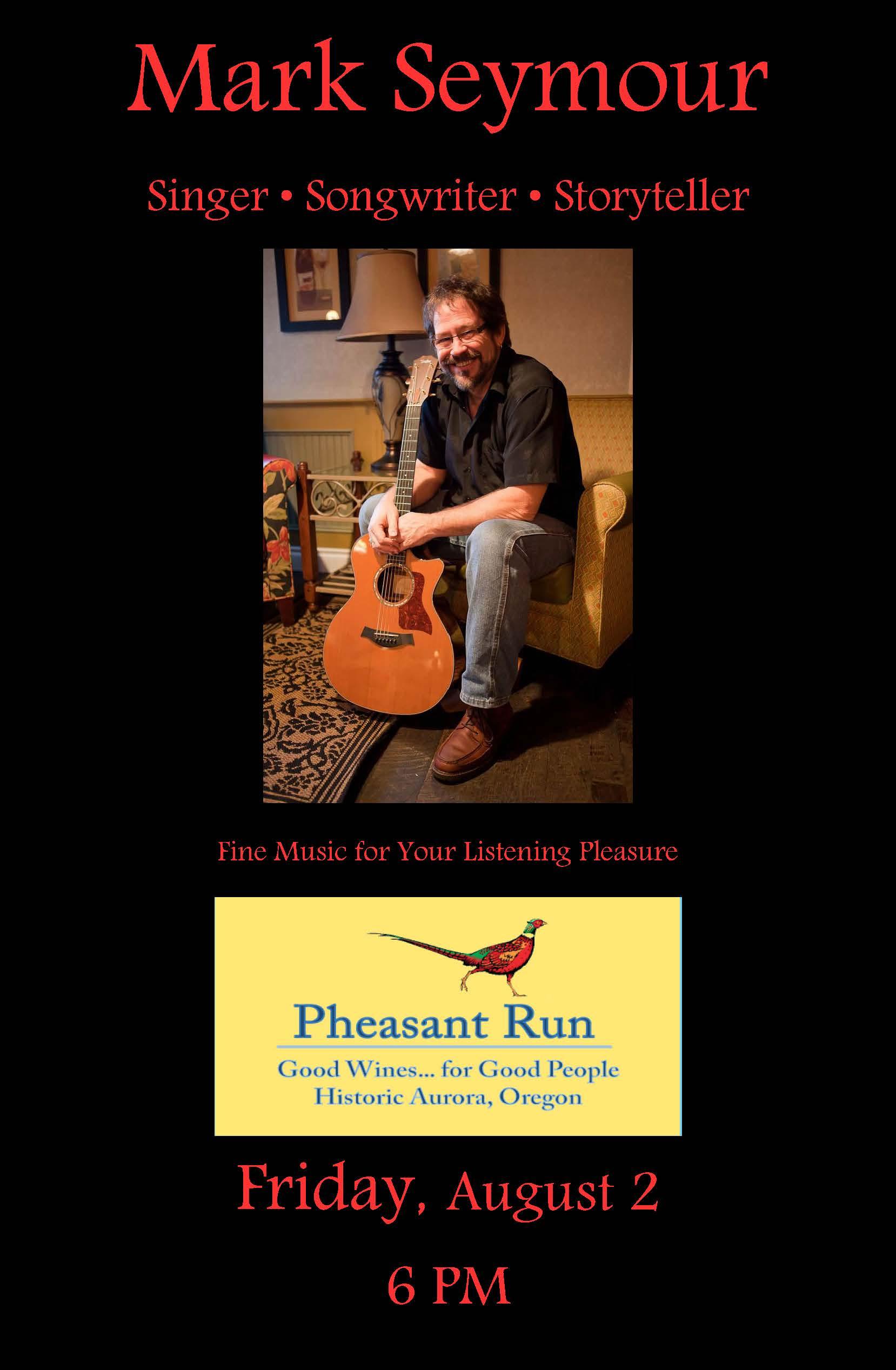 Promo Phesant Run Aug 2