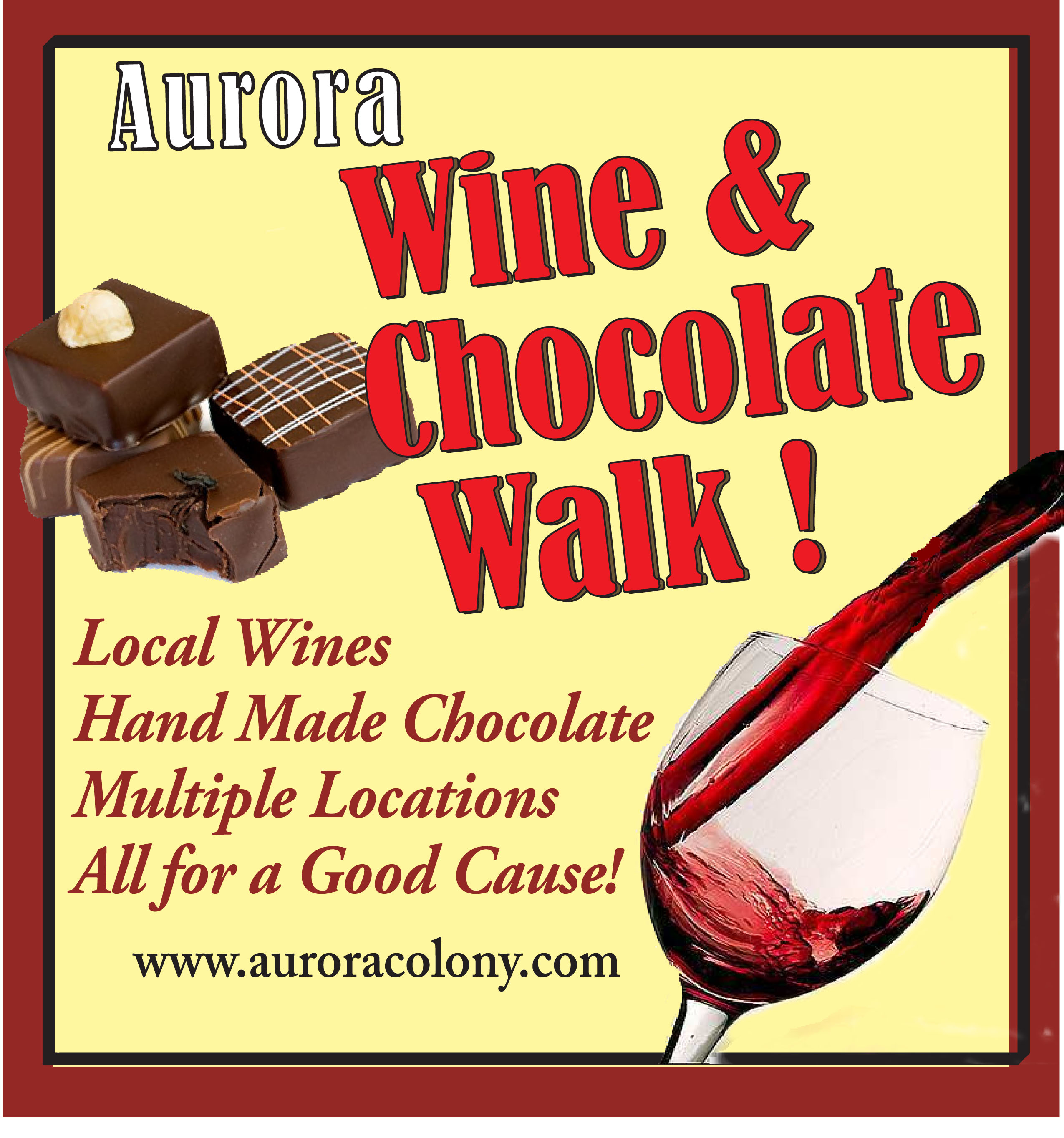 Wine & Chocolate Logo